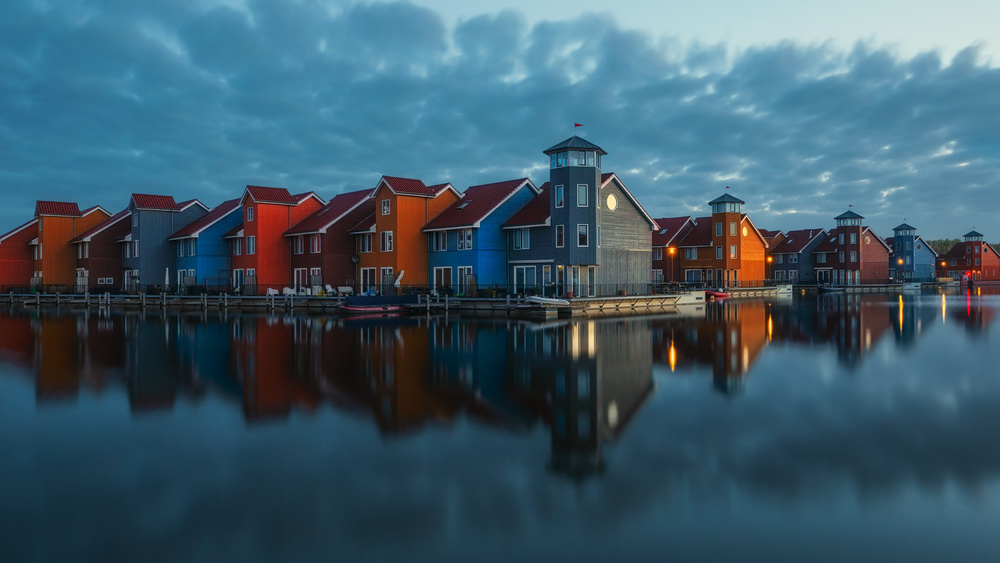 A piece of fine art art photography titled Colorful Tranquility by Pawel Kucharski