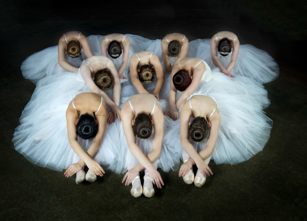 A piece of fine art art photography titled Performance by Pauline Pentony MA ARPS DPAGB