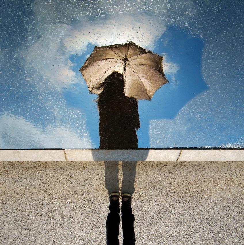 A piece of fine art art photography titled Let It Rain by David Marcu