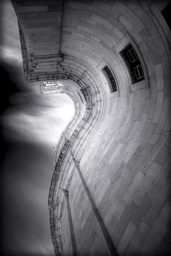 A piece of fine art art photography titled Questioning the Sky by Joao Mourao
