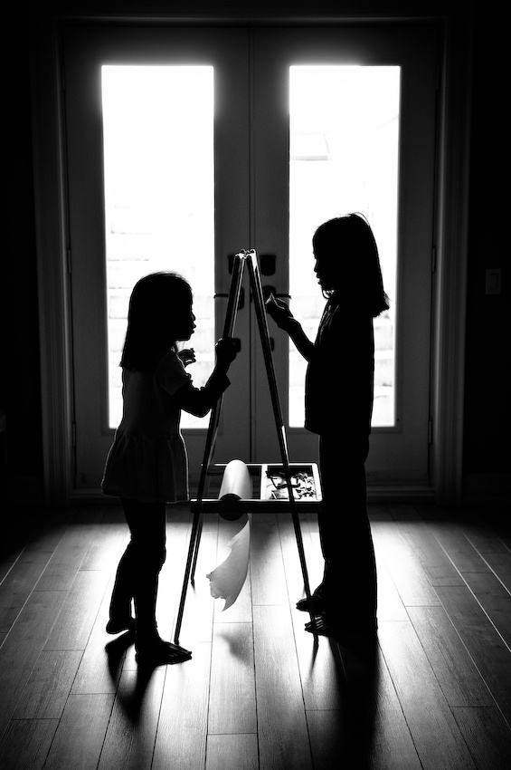 A piece of fine art art photography titled Sisters by Kevin Ng