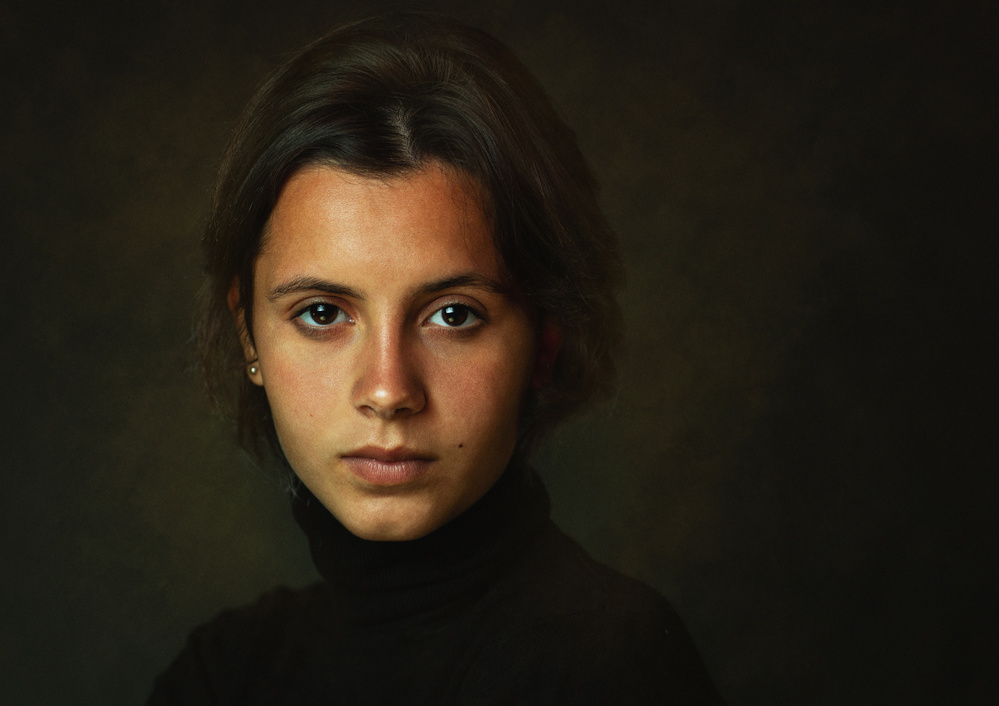 A piece of fine art art photography titled Yana by Zachar Rise