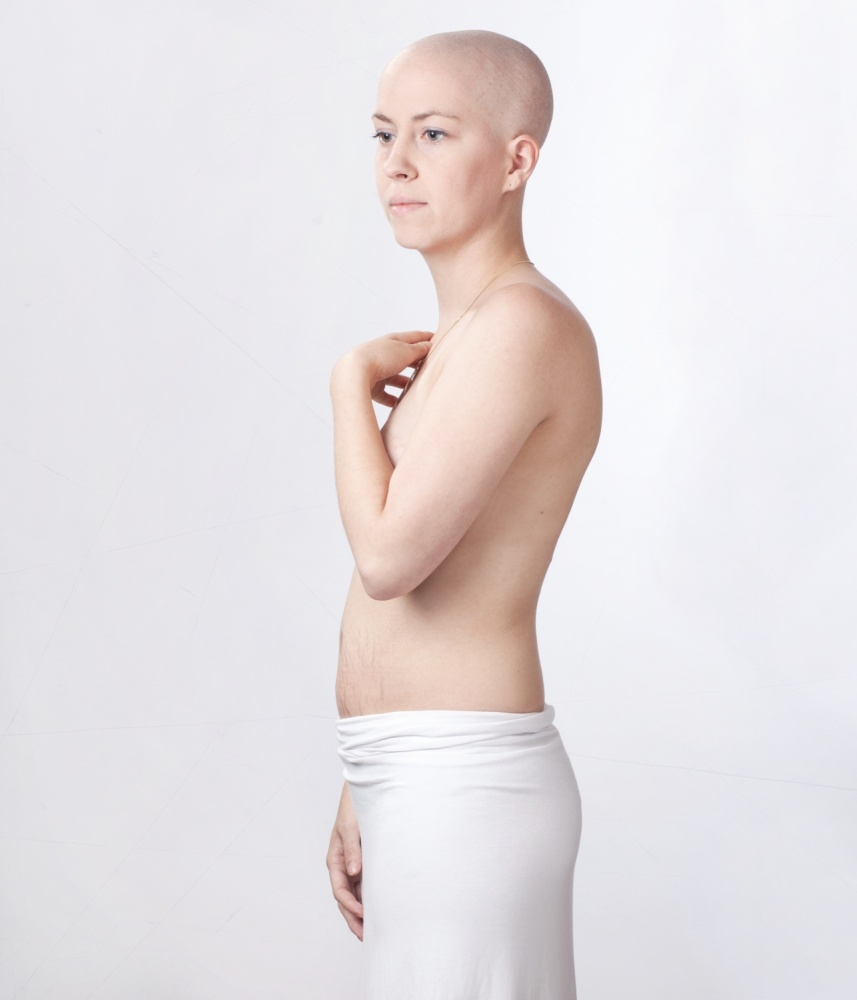 A piece of fine art art photography titled Beat Cancer by marina nieuwenhuijs