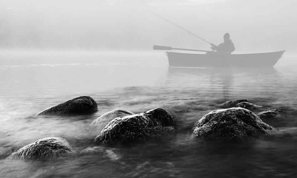 A piece of fine art art photography titled How to Catch the Fish by acrux/Kowalkowski Rafal