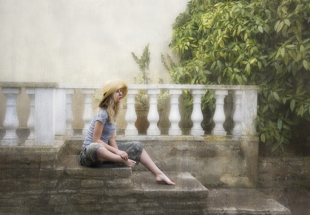 A piece of fine art art photography titled Waiting by kenp