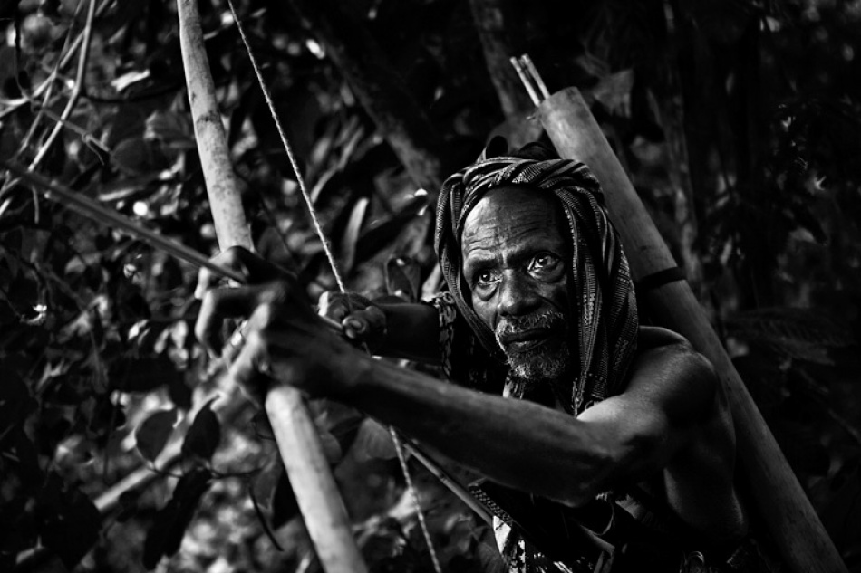 A piece of fine art art photography titled Abui Archer by Mitchell Kanashkevich