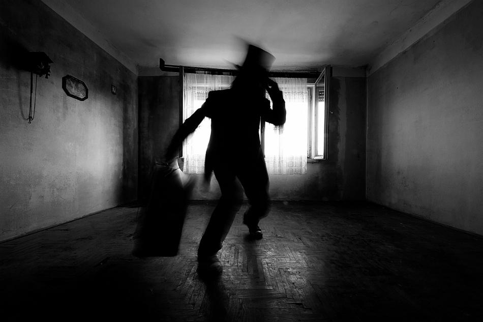 A piece of fine art art photography titled Lonesome Traveler by mario grobenski - psychodaddy
