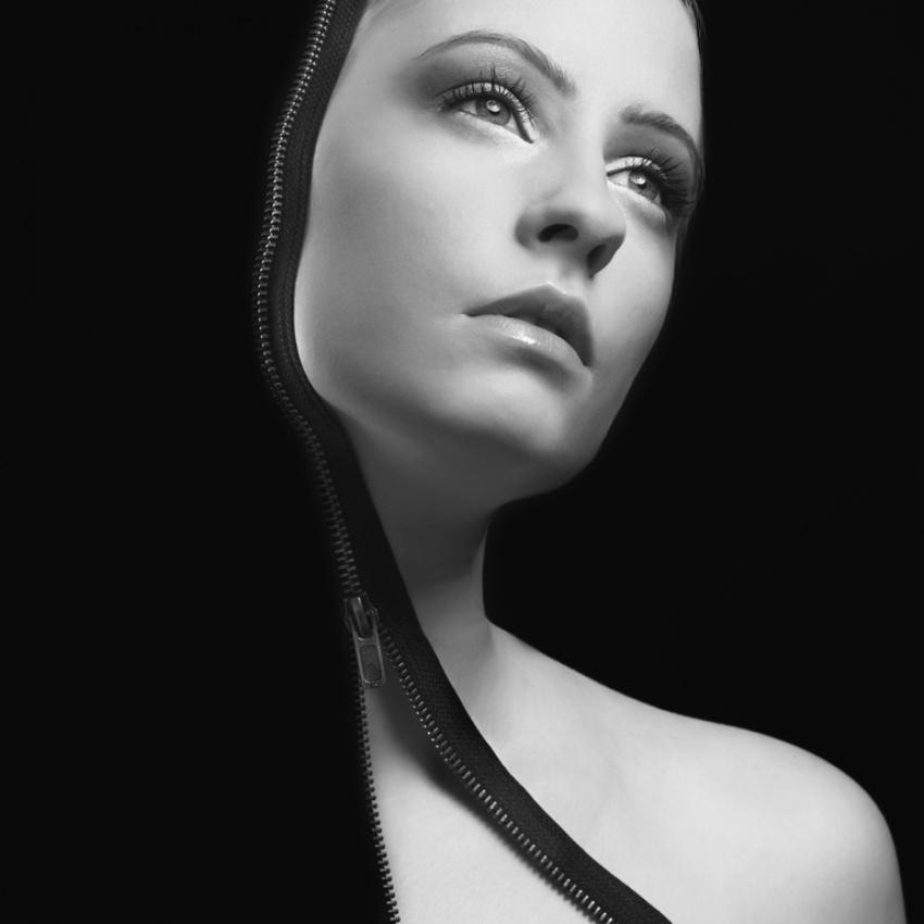 A piece of fine art art photography titled Zipped by Rolfie