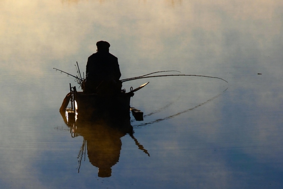A piece of fine art art photography titled FishMan by Rudi Kokic