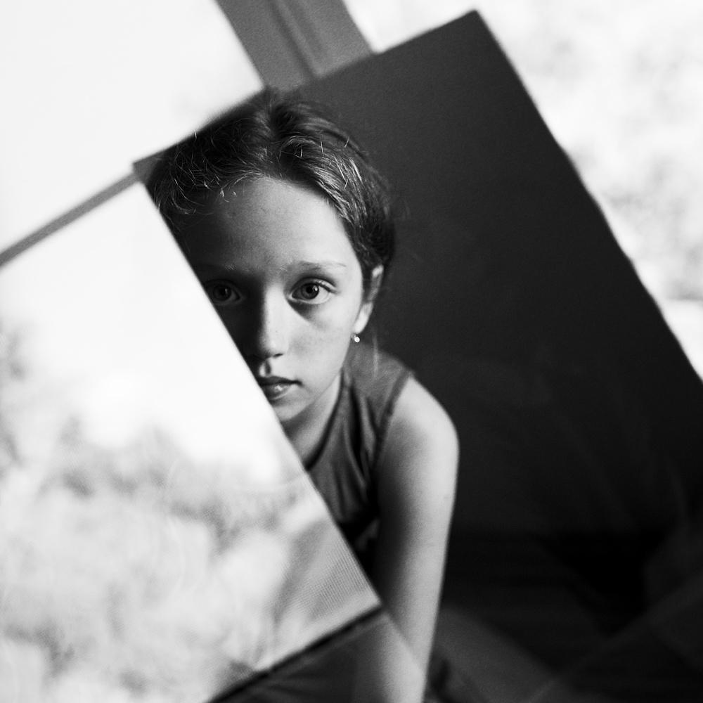A piece of fine art art photography titled Reflection, Windows by Kharinova Uliana