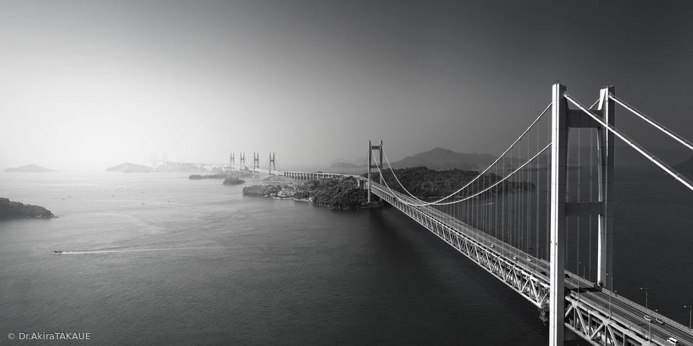 Bird View of Great Seto Bridge