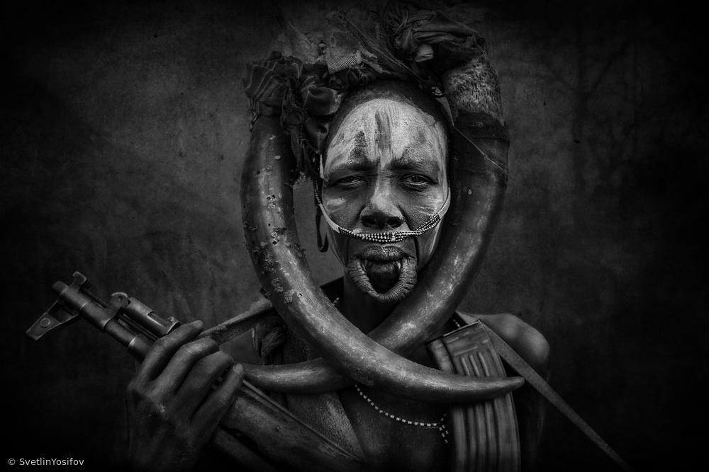 Woman killer warrior