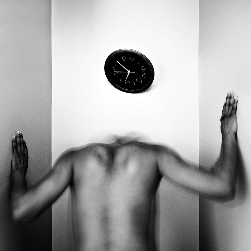 A piece of fine art art photography titled Pressures of Time and Space by SherwinJames