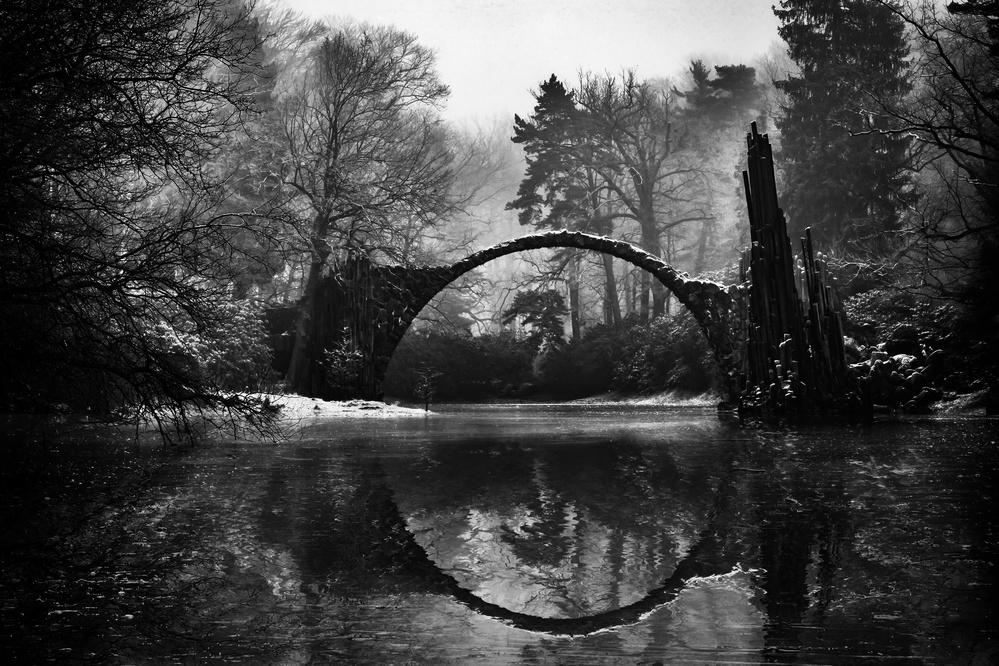 A piece of fine art art photography titled Devil's Bridge - II by mike kreiten