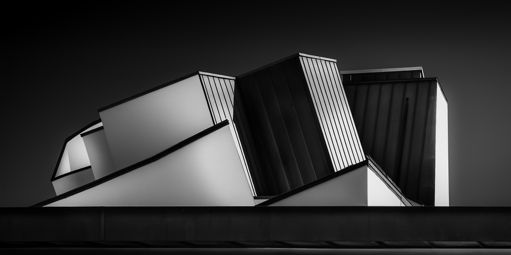 A piece of fine art art photography titled The Roof by Ute Scherhag