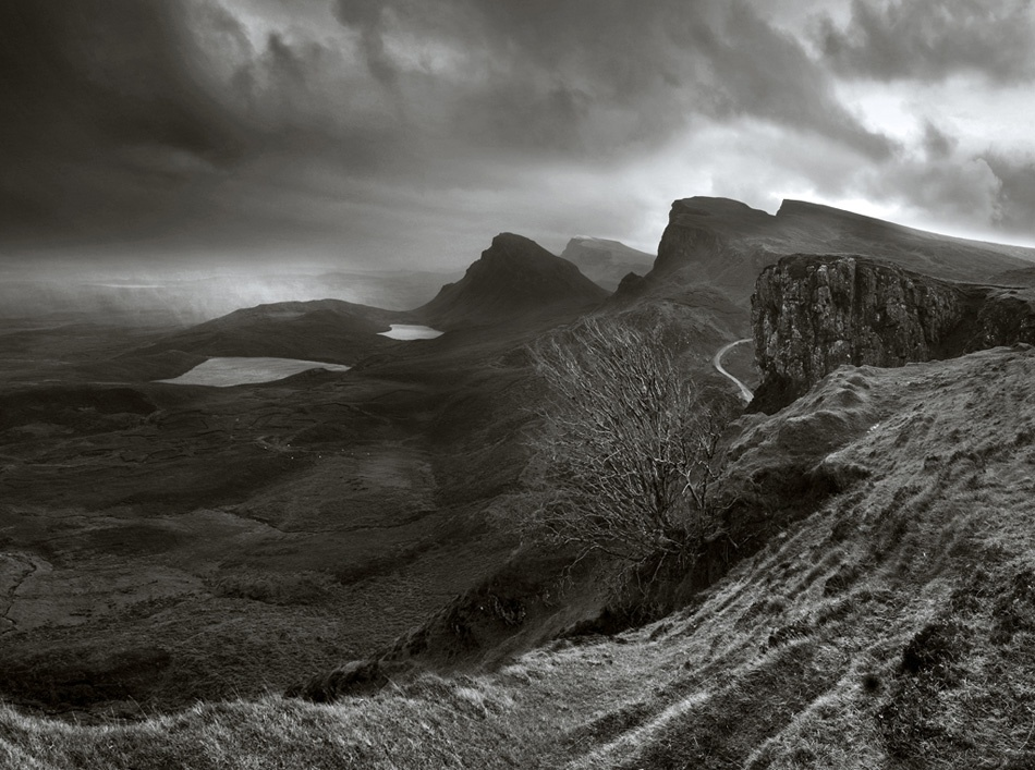 A piece of fine art art photography titled The Quiraing by Damian Shields