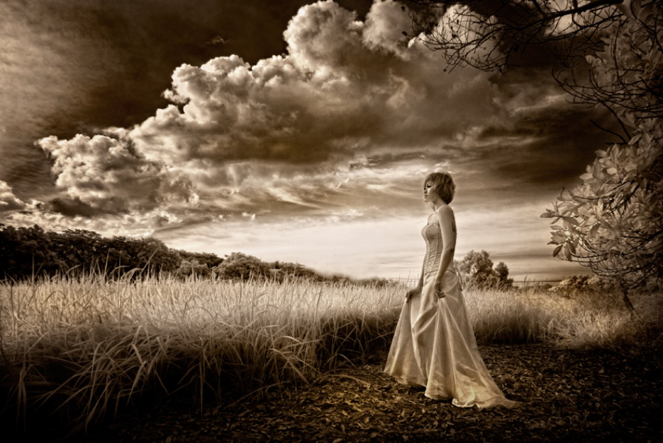 A piece of fine art art photography titled When You Are Not Here by Rolan A. Diapari