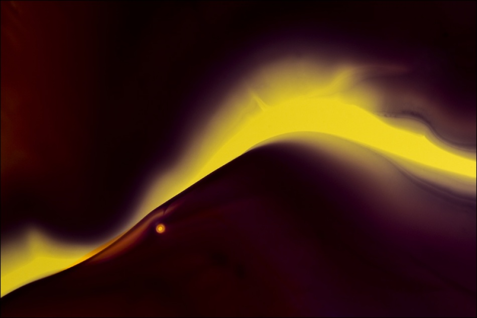 A piece of fine art art photography titled Eruption by Carola Onkamo