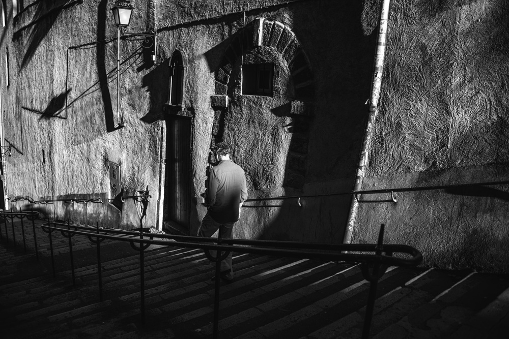 A piece of fine art art photography titled Old Town by Sylvain Rouvier