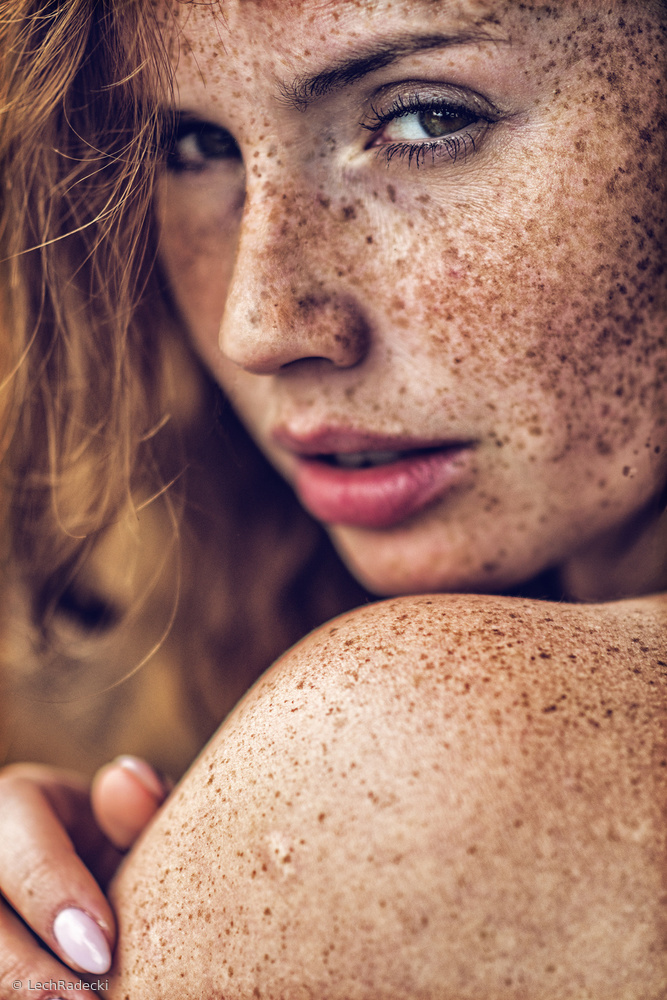 View this piece of fine art photography titled Freckles by Lech Radecki