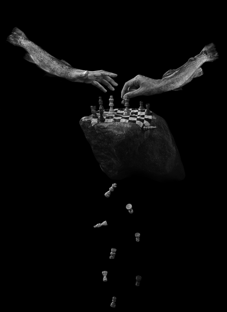 A piece of fine art art photography titled The Game by Hamid reza Payman