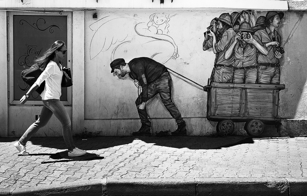 A piece of fine art art photography titled Antidote Against the Plague of Photographers by Adolfo Urrutia