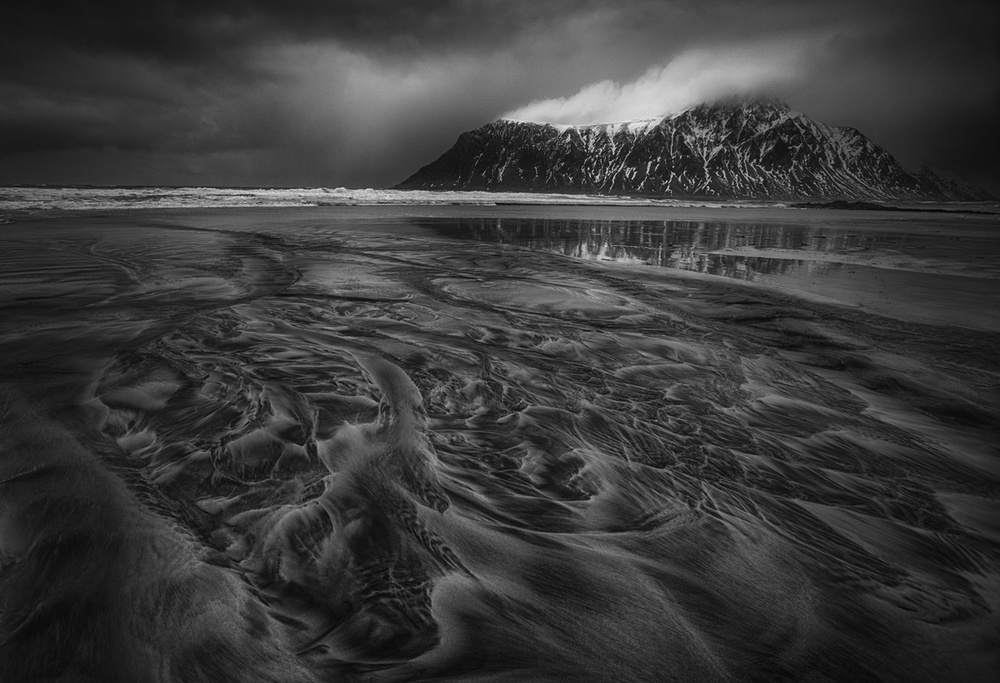 A piece of fine art art photography titled Blown by the Wind by Peter Svoboda, MQEP