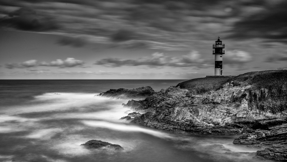 A piece of fine art art photography titled Lighthouse by Luis Borges Alves