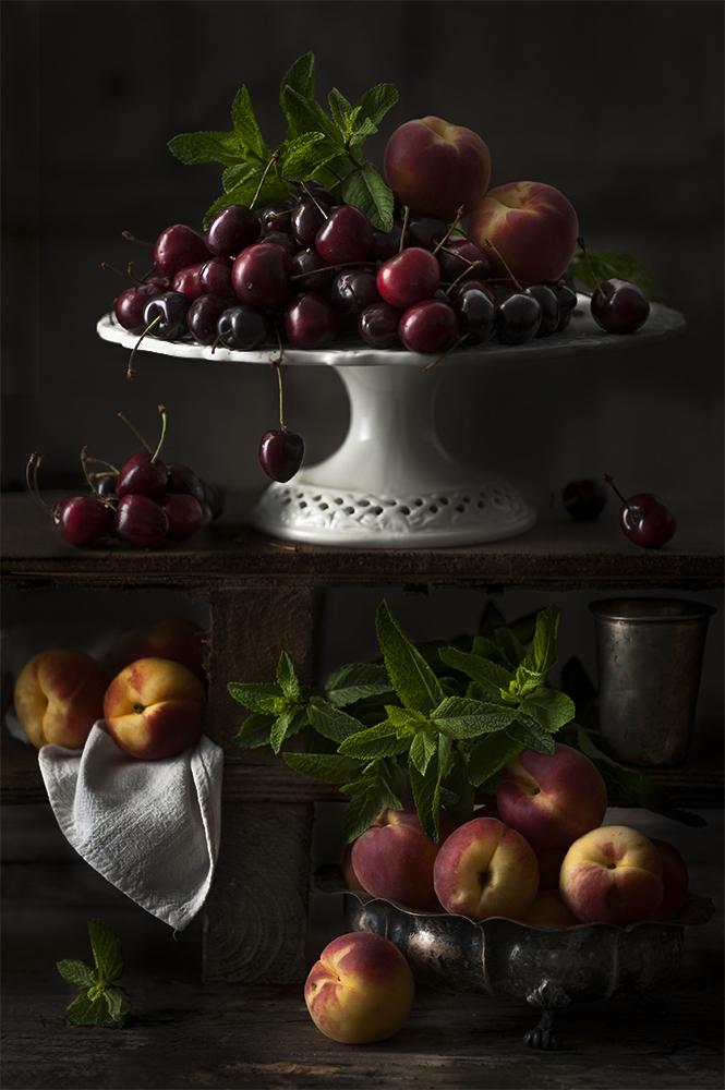 Summer fruit.