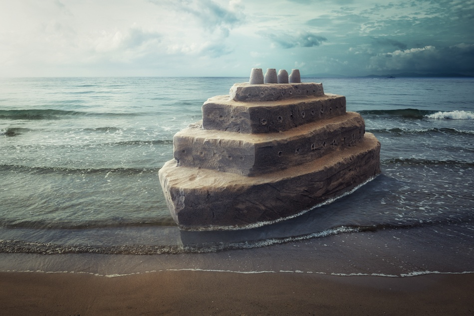 A piece of fine art art photography titled Titanic II by John Wilhelm