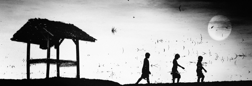 A piece of fine art art photography titled Back Home by jay satriani