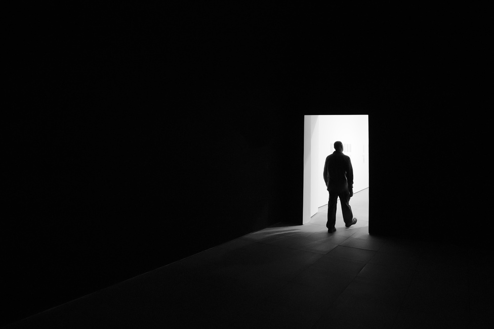 A piece of fine art art photography titled Exit by Jose Beut