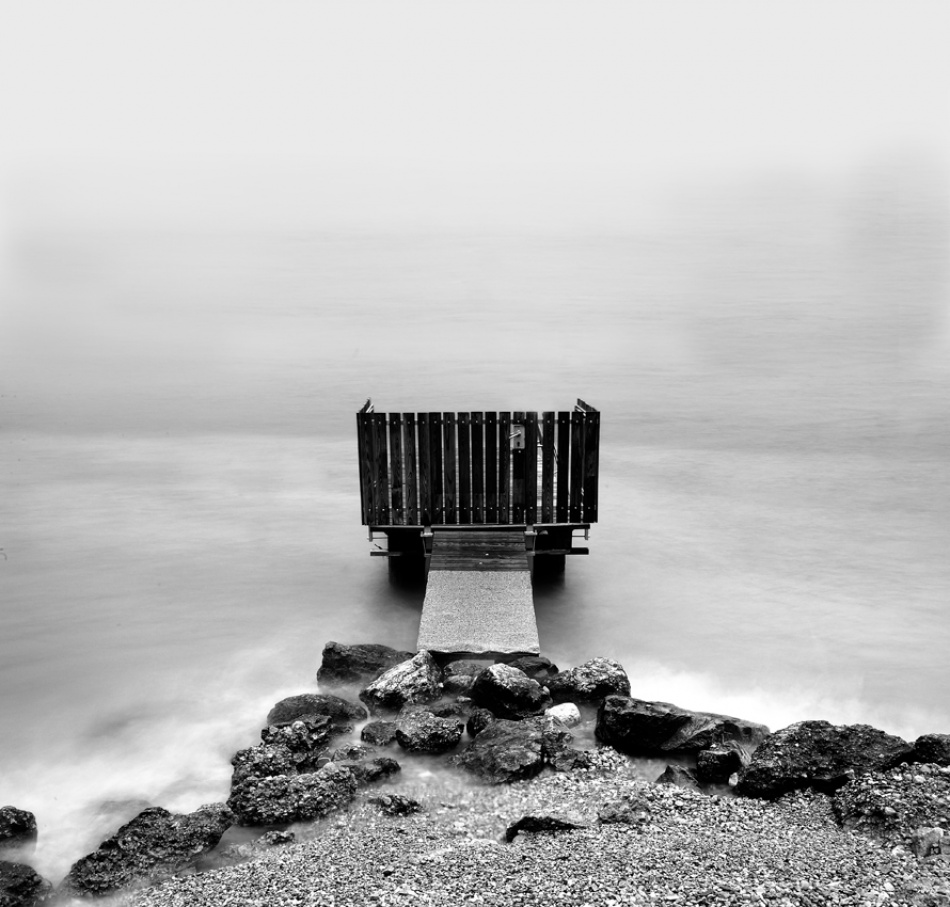 A piece of fine art art photography titled A Gate to the Limbo by Andrea Auf dem Brinke