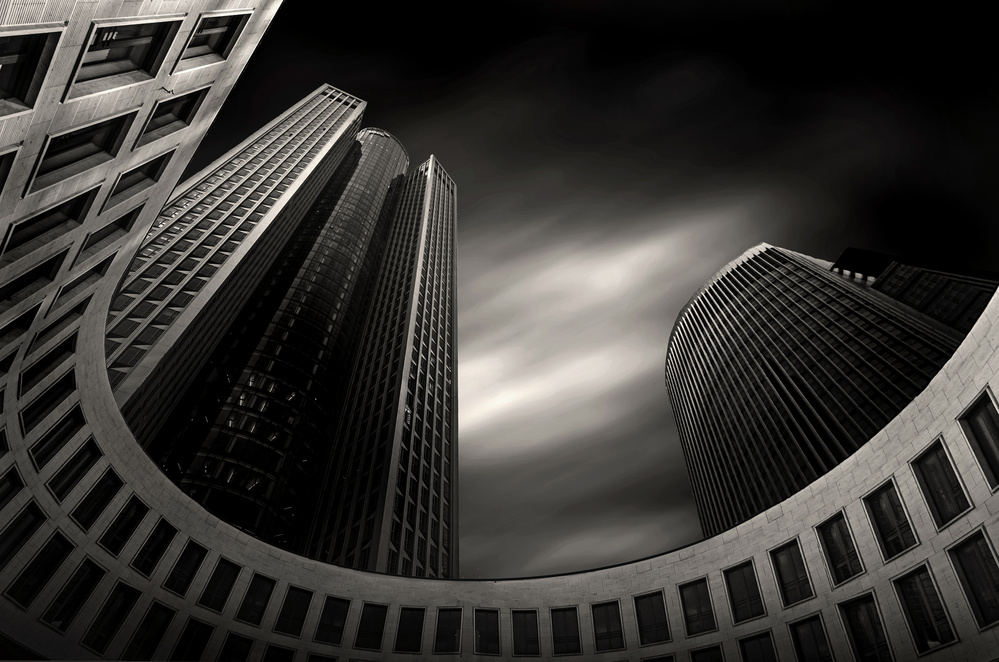 A piece of fine art art photography titled Tower 185 by pierre bacus