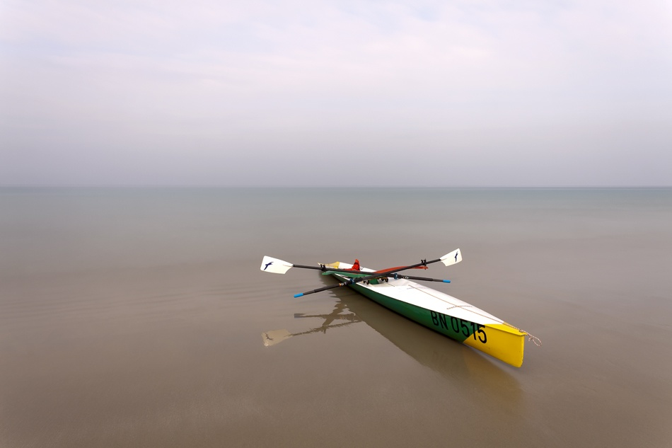 A piece of fine art art photography titled Stop Rowing ! by REINHARDT