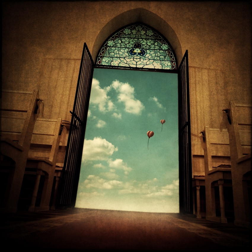 A piece of fine art art photography titled ~ Travelling Hearts ~ by Schnette