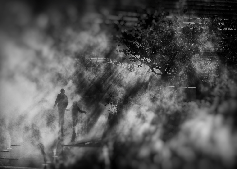 A piece of fine art art photography titled Lumière Divine by eric drigny