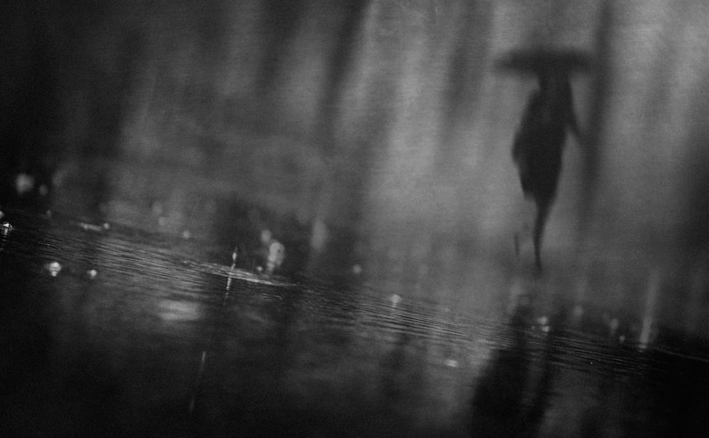 A piece of fine art art photography titled Rain by Teruhiko Tsuchida