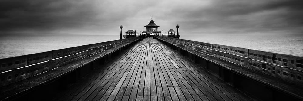 A piece of fine art art photography titled Clevedon Pier by catalin alexandru