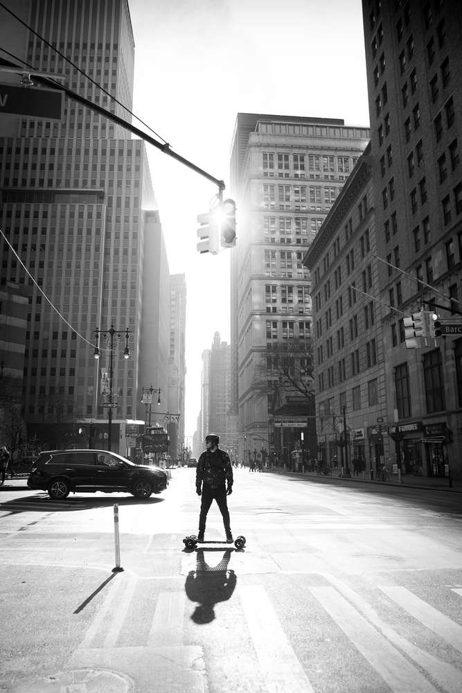 A piece of fine art art photography titled Manhattan by Martin Froyda