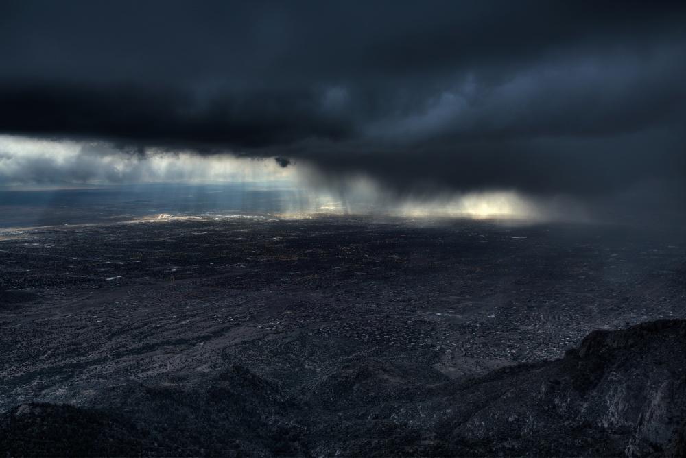 Storm over Alburquerque