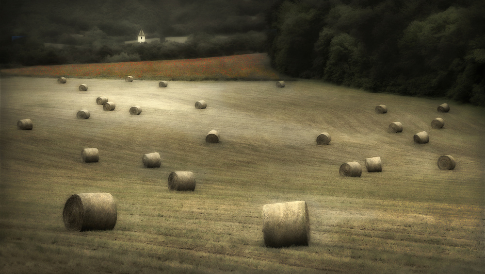 Bales of Hay - France