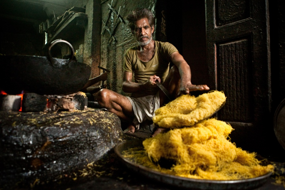 A piece of fine art art photography titled The Sweets-Maker by Mitchell Kanashkevich