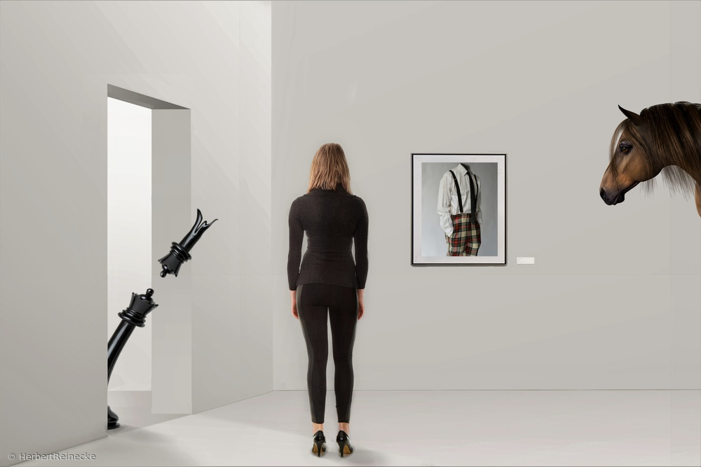 View this piece of fine art photography titled the others only play with wooden figures - picture 2 by Klaus Lenzen