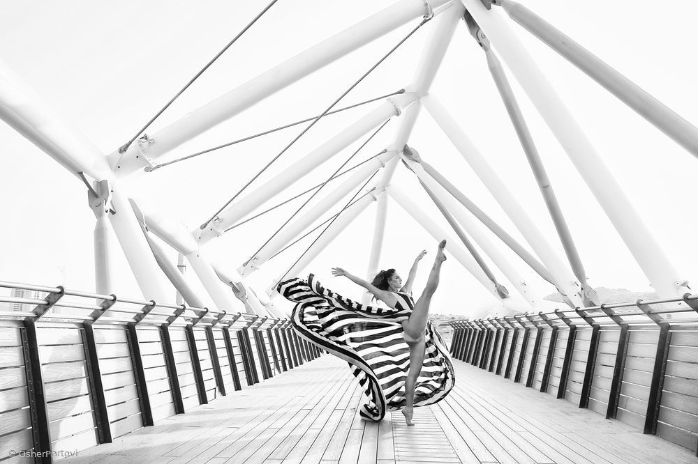 "View this piece of fine art photography titled ""Stripes motion""	- 2 by Victoria Ivanova"