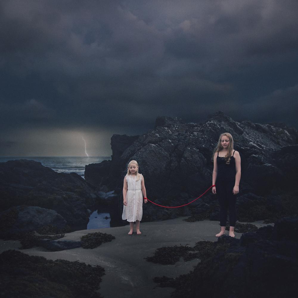 A piece of fine art art photography titled Sisterhood by Greta Do