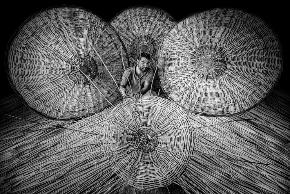 A piece of fine art art photography titled Umbrella by Yasemin Bakan
