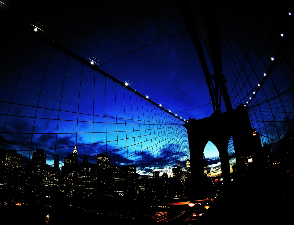 A piece of fine art art photography titled Brooklyn Colours by Fulvio Pellegrini
