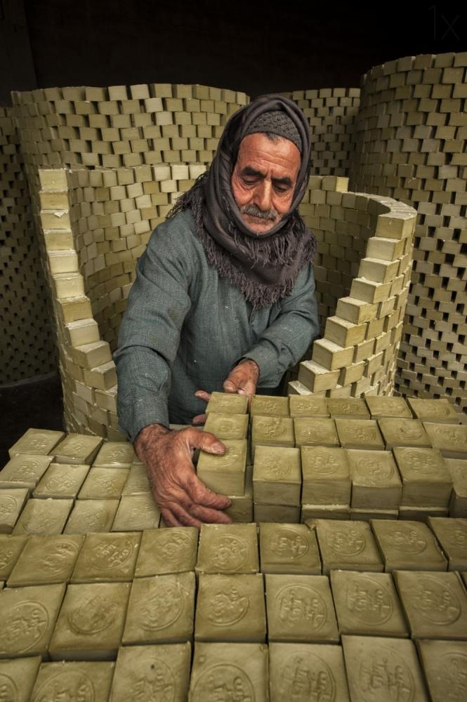 A piece of fine art art photography titled Master Soap by Kaan Kocakoglu