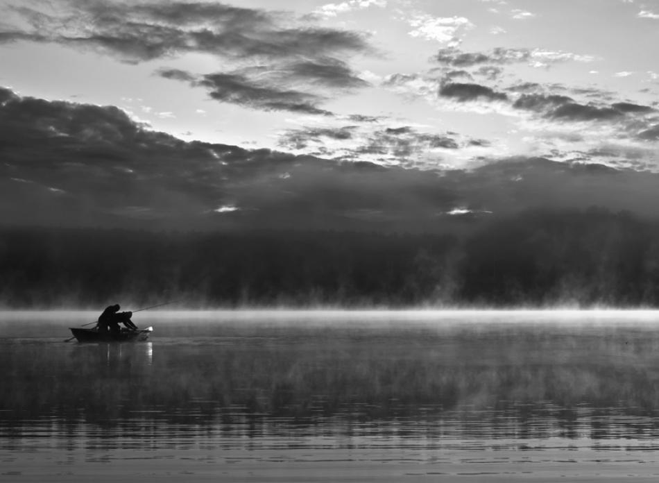 A piece of fine art art photography titled About Fishing by acrux/Kowalkowski Rafal